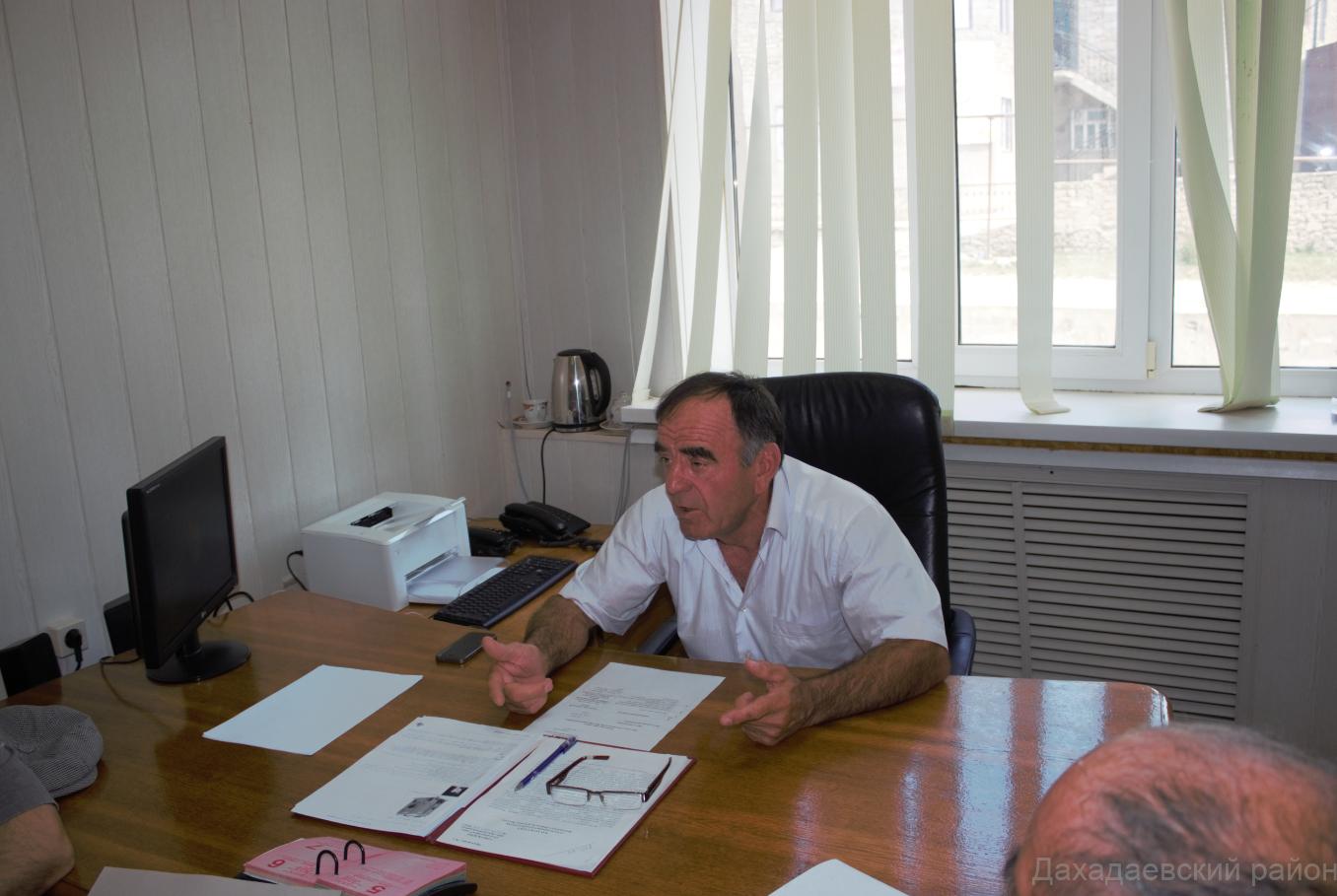 Заседание АТК прошло в Дахадаевском районе.