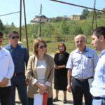 Анна Безрукова посетила с рабочим визитом Дахадаевский район.