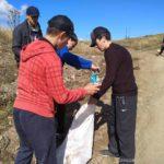 В Дахадаевском районе проходят экологические субботники.