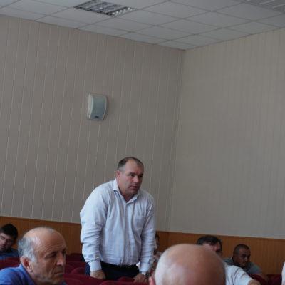 В администрации Дахадаевского района прошло совещание с главами сельских поселений.