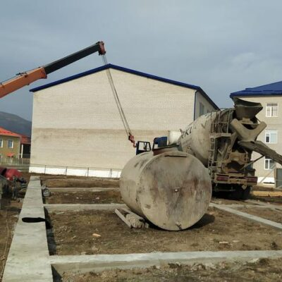 В Дахадаевском районе началось долгожданное строительство интерната на 50 мест