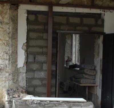 В районной школе искусств Дахадаевского района начат капитальный ремонт здания