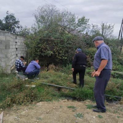 К родникам села Новый Уркарах Дахадаевского района провели водопровод