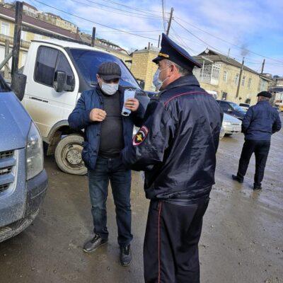 В Дахадаевском районе продолжается проверка соблюдения масочного режима