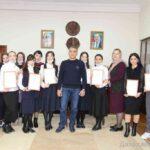 В Дахадаевском районе, за работу в период пандемии, наградили волонтеров