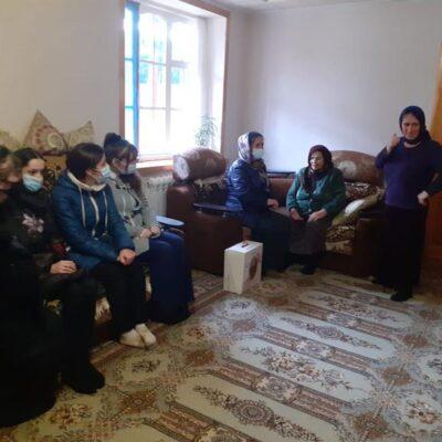 В Дахадаевском районе продолжается акция «Поздравь мать – героиню!»
