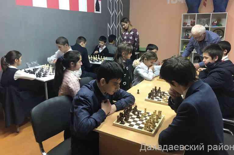 Шахматный турнир прошел в Уркарахской многопрофильной гимназии