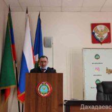 Работу отдела по делам ГО и ЧС обсудили в Дахадаевском районе