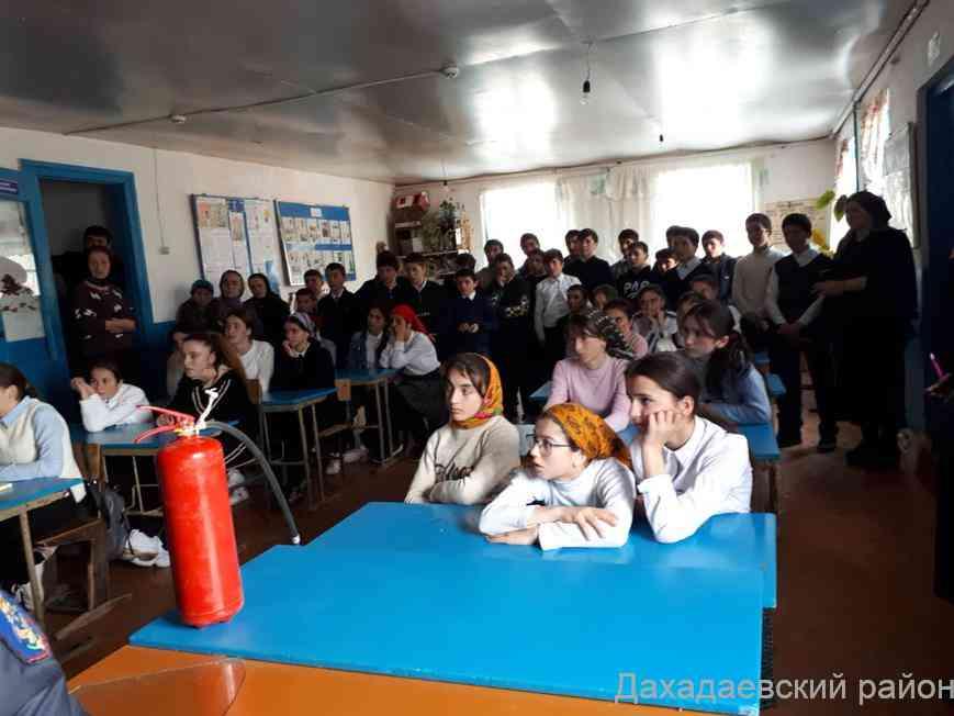 Специалисты МЧС рассказали школьникам, что делать во время землетрясения