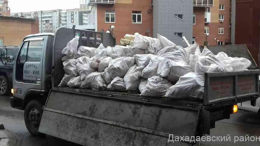 ООО «Аква строй» начинает работу по вывозу мусора в Дахадаевском районе