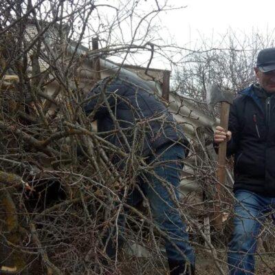 Первые весенние субботники прошли в Дахадаевском районе