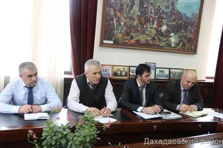 Оргкомитет по празднованию Дня местного самоуправления прошел в Дахадаевском районе