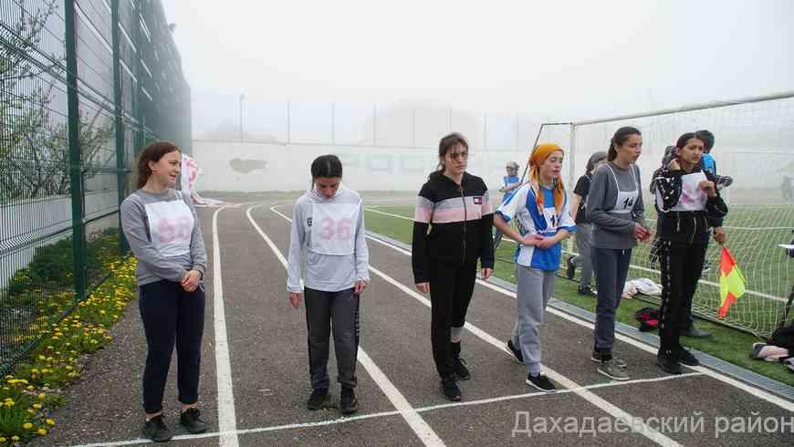 В Дахадаевском районе прошли межрайонные соревнования по легкой атлетике среди юниоров.