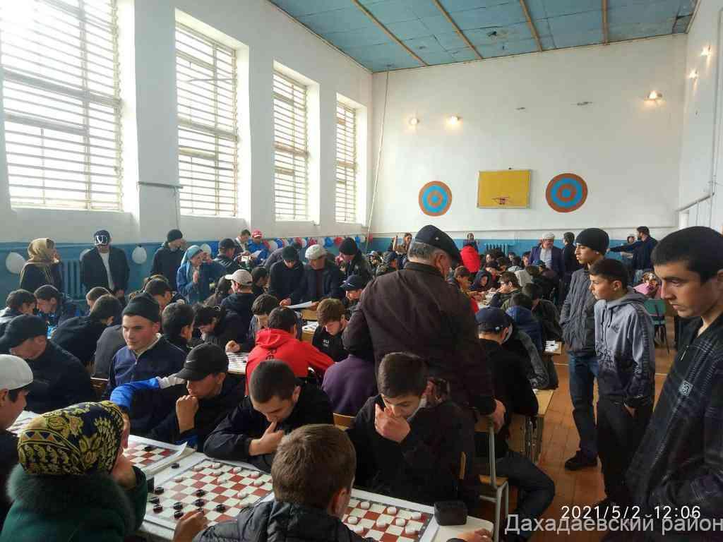 Турнир по русским шашкам памяти Гаруна Курбанова и Исмаила Исмаилова прошел в Дахадаевском районе