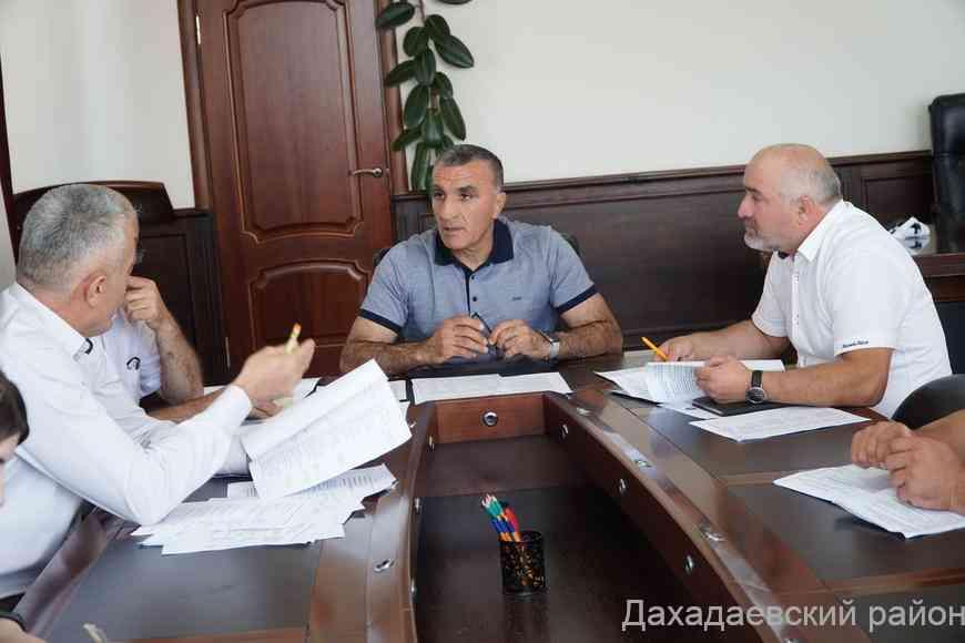 Вопросы обеспечения безопасности в период майских праздников обсудили в Дахадаевском районе