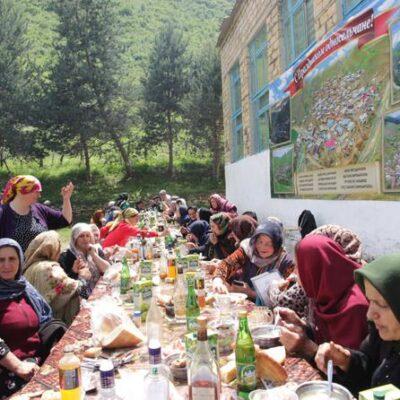 С большим размахом в Дахадаевском районе отметили День села Кунки