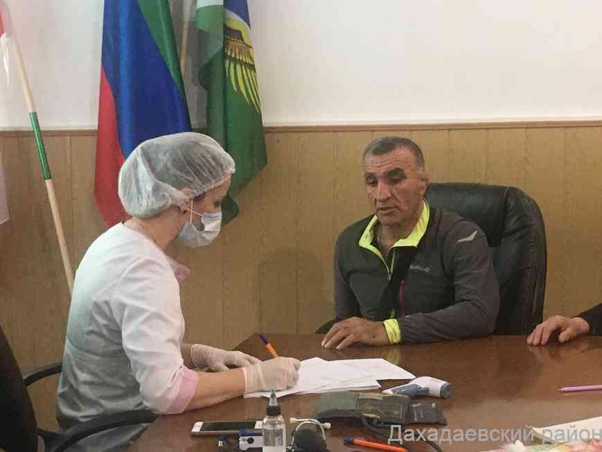 Джарулла Омаров прошел первую процедуру вакцинирования от COVID-19