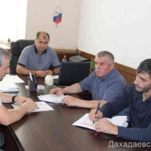 Вопросы предстоящей сельскохозяйственной микропереписи рассмотрели ив администрации Дахадаевского района.