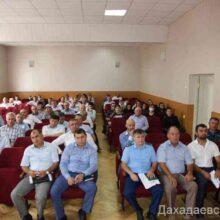 Заседание АТК прошло в Дахадаевском районе